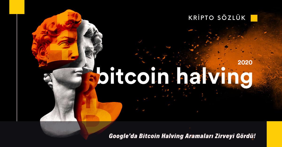 Google'da Bitcoin Halving Aramaları Zirve Yaptı!