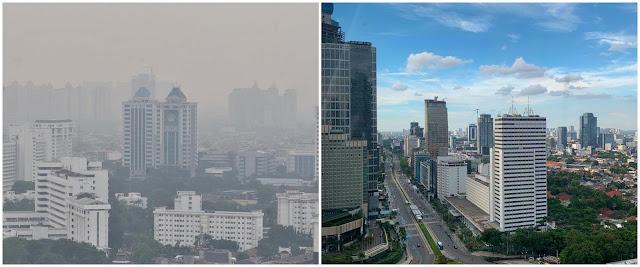 Langit Jakarta Biru, Warga di Desa Tertekan