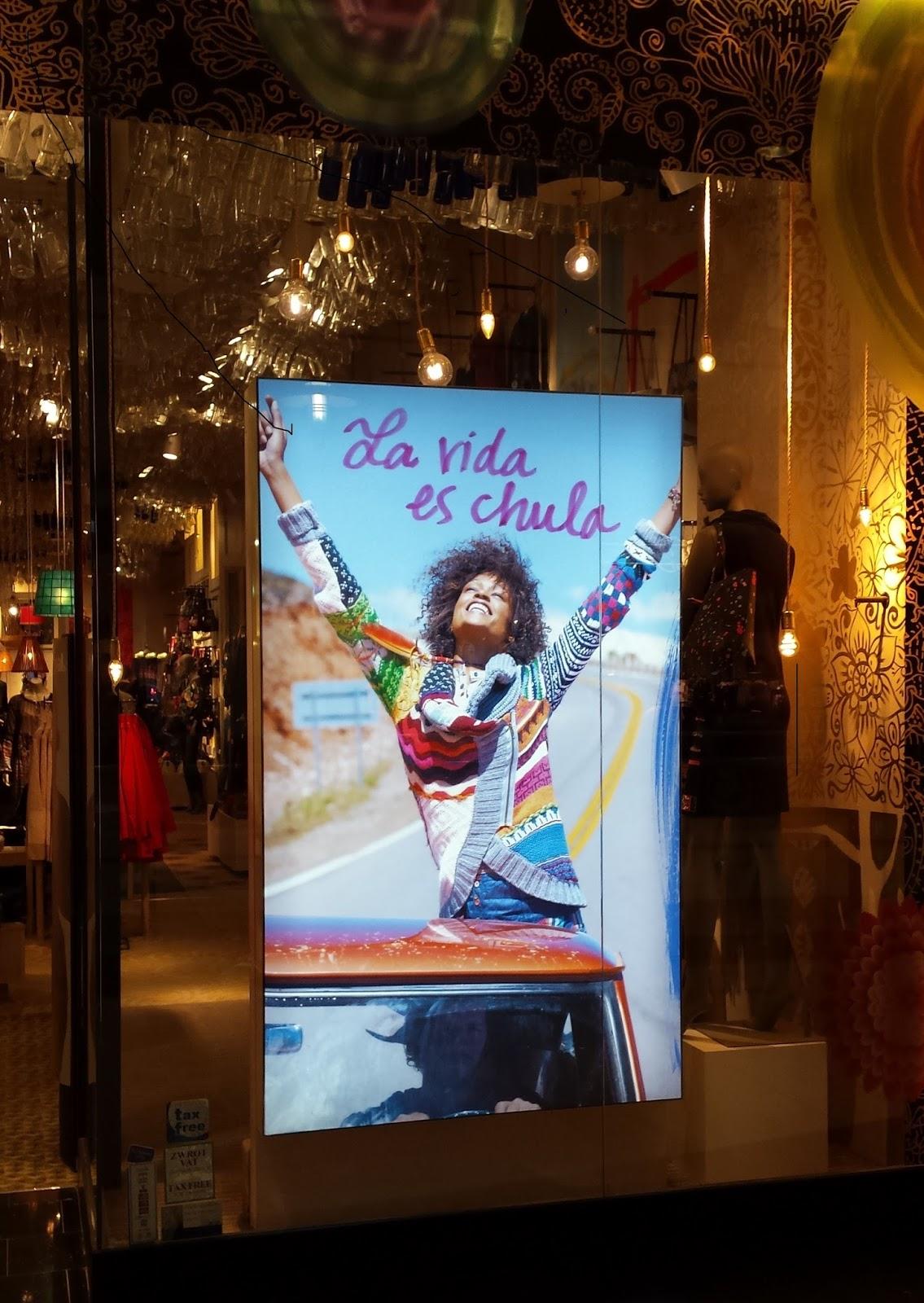 hiszpańska marka Desigual, moda hiszpańska w Polsce, blog o modzie hiszpańskiej, hiszpańskie marki