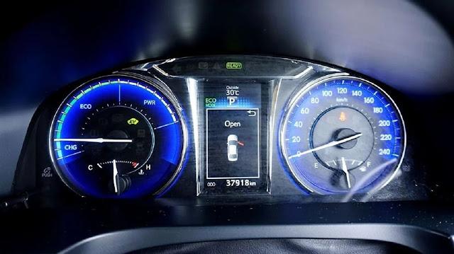 speedometer camry hybrid