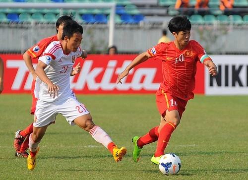 U19 Việt Nam gặp U19 Trung Quốc