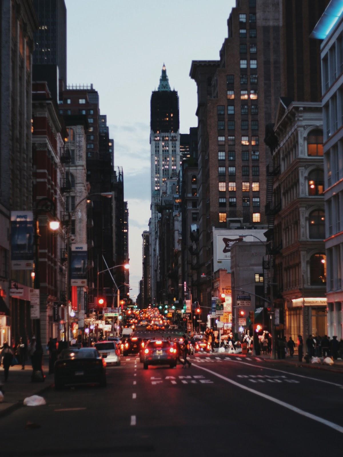 New York travel diary Soho