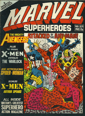 Marvel Superheroes #355, the Avengers vs ants