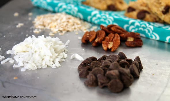 Black Friday Energy Cookies - packed with coconut, pecans, oat, and chocolate to keep you moving on Black Friday!