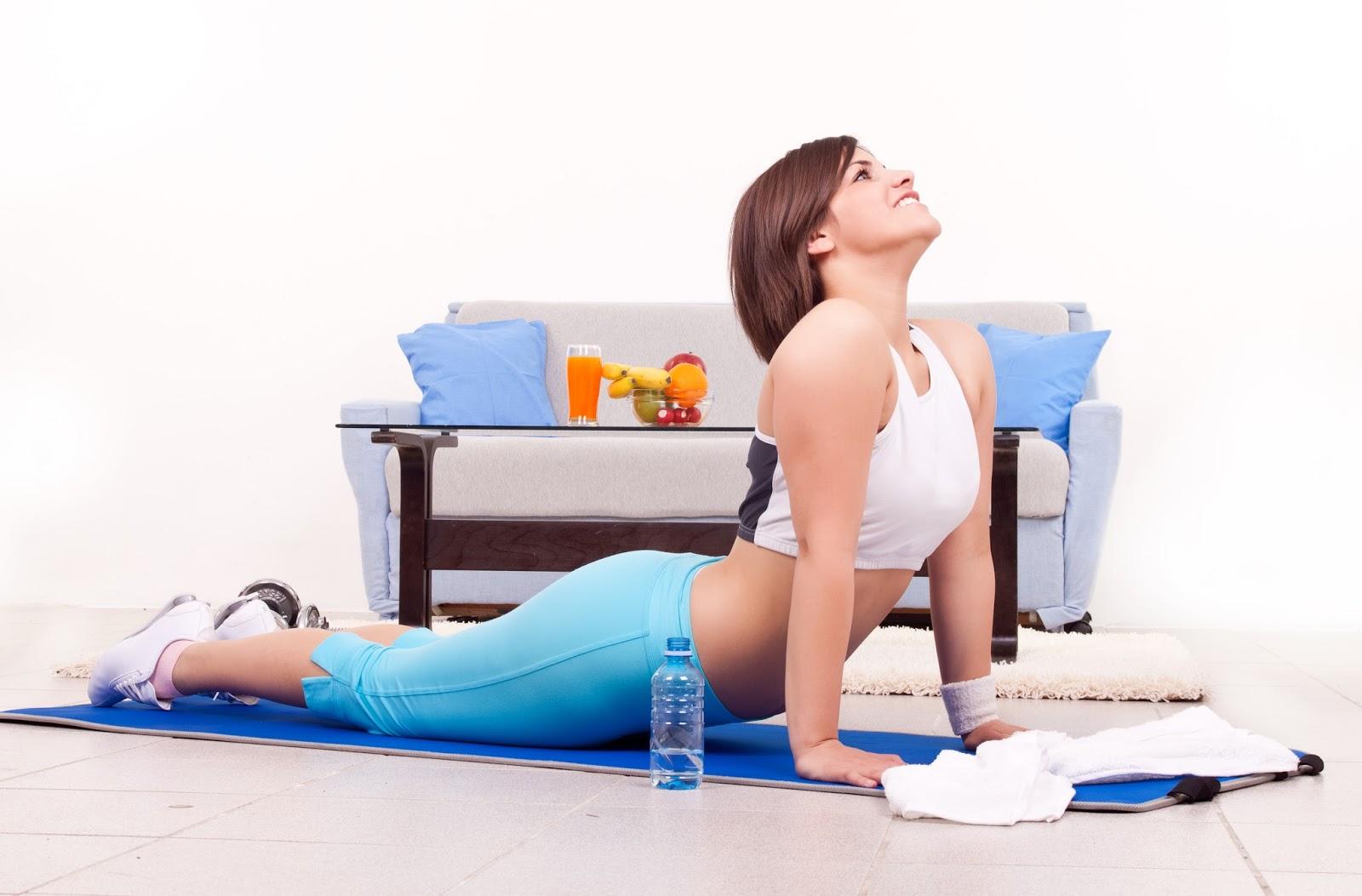 Tetap Sehat dengan Olahraga Simpel di Rumah