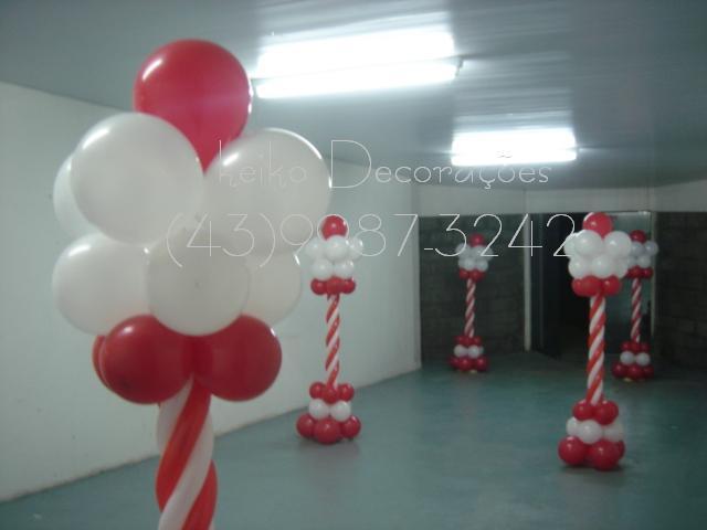 Keiko Decoraç u00e3o com Balões Dia das m u00e3es Escola -> Decoração Dia Das Maes Escola