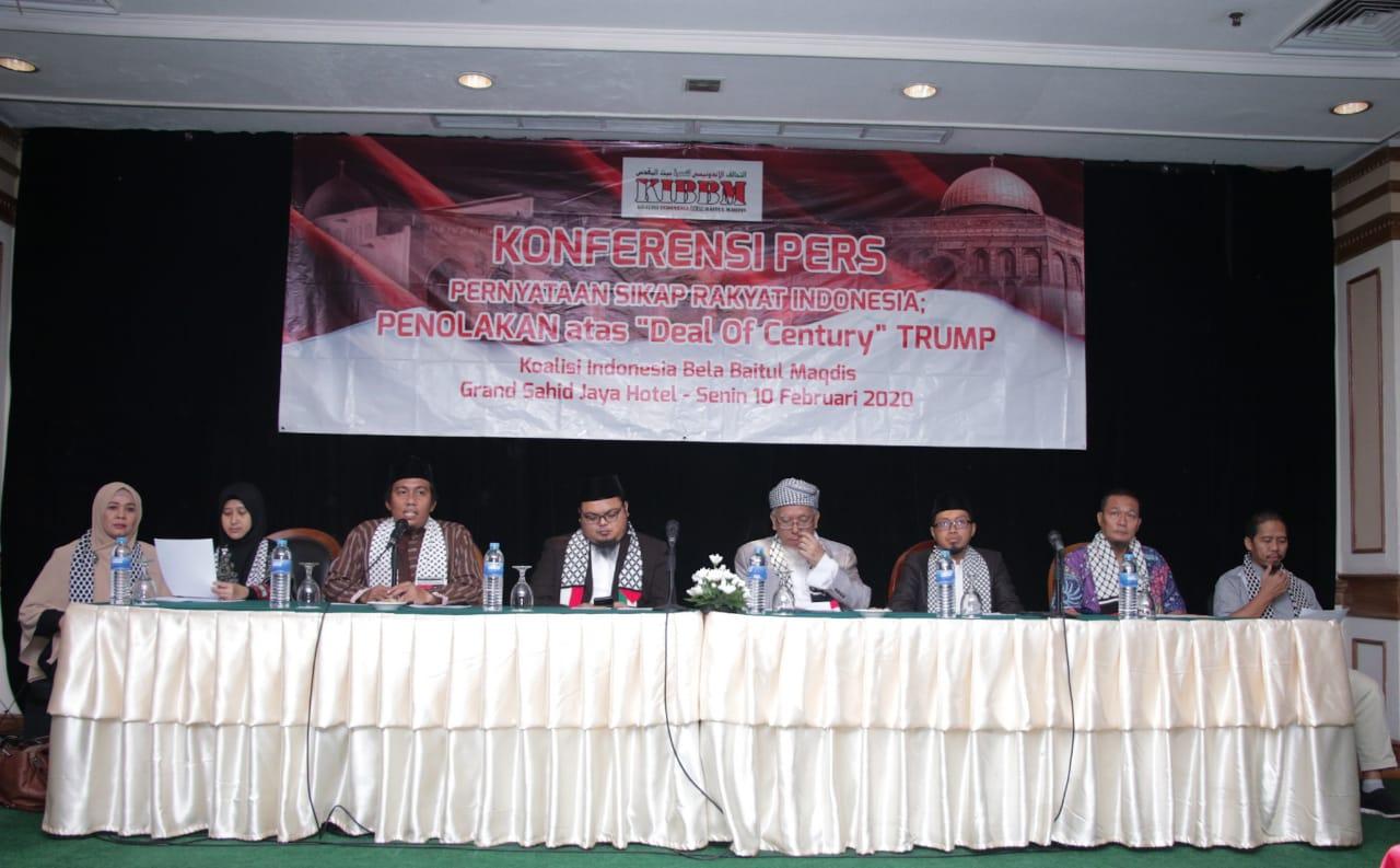 Wakili Rakyat Indonesia, KIBBM Tolak Deal of Century Trump