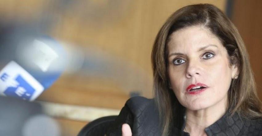 Mercedes Aráoz será la nueva Presidenta del Consejo de Ministros - PCM