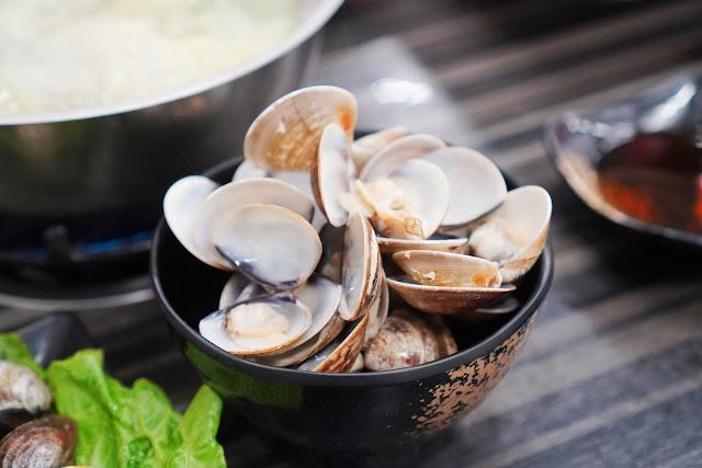 台南永康區美食【和之國麻辣鍋】餐點介紹-酒蒸蛤蠣鍋