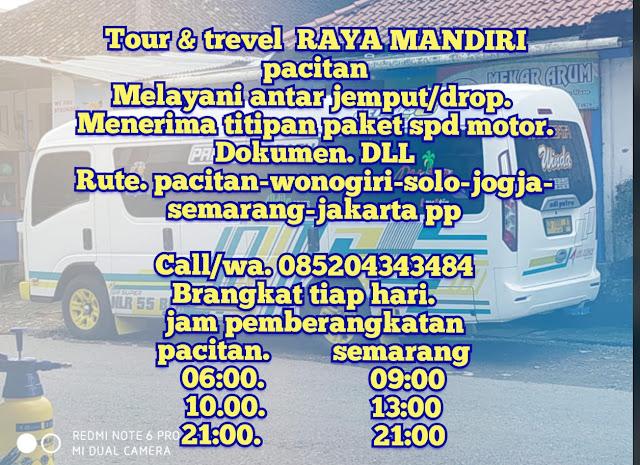Travel Raya Mandiri Pacitan