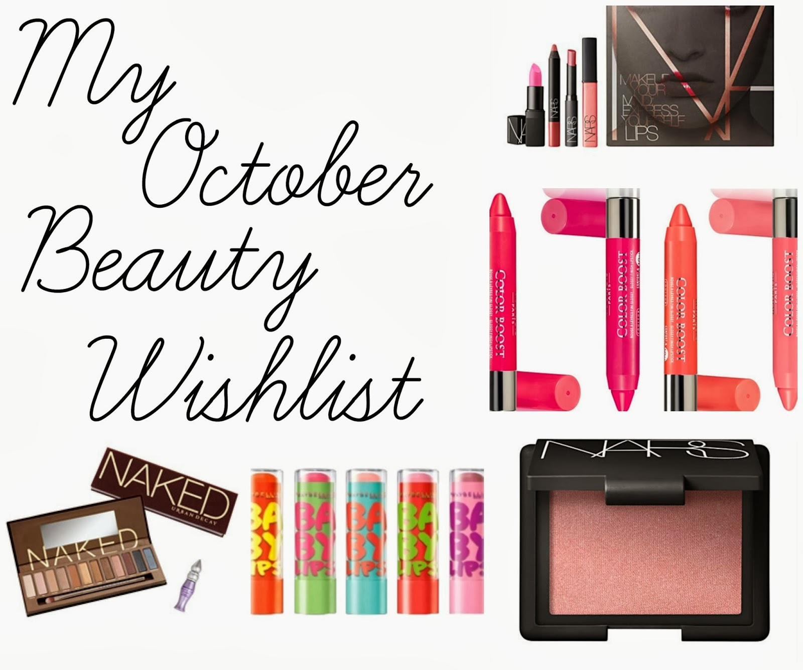 October Beauty Wishlist