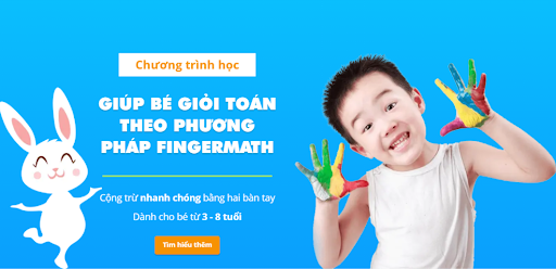 Giúp trẻ 3-8 tuổi giỏi toán