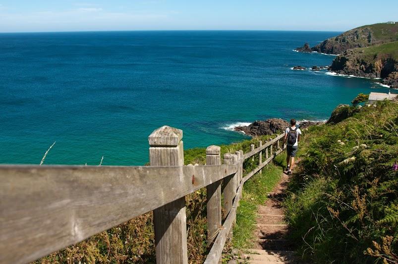 Walking the Cornish coast path