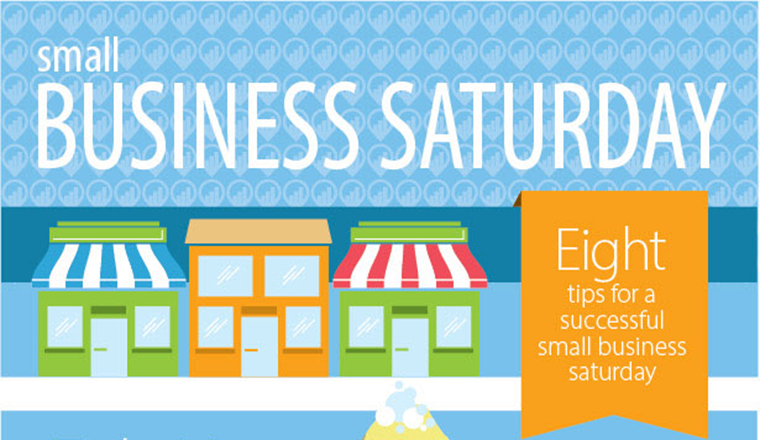 8 Ideas for a Successful Small Business Saturday #infographic