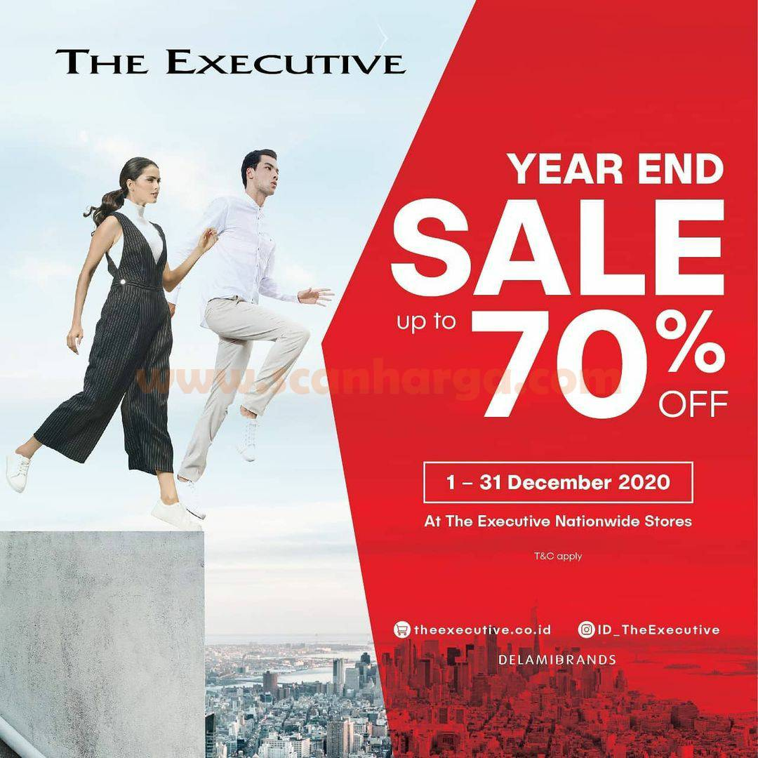 The Executive  Promo Year End Sale up to 70% off*