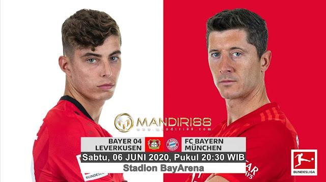 Prediksi Bayer Leverkusen Vs Bayern Munchen, Sabtu 06 Juni 2020 Pukul 20.30 WIB @ Mola TV