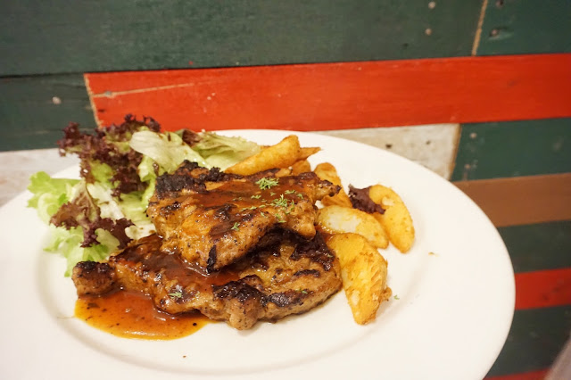 Rice & Fries - Pork Chop