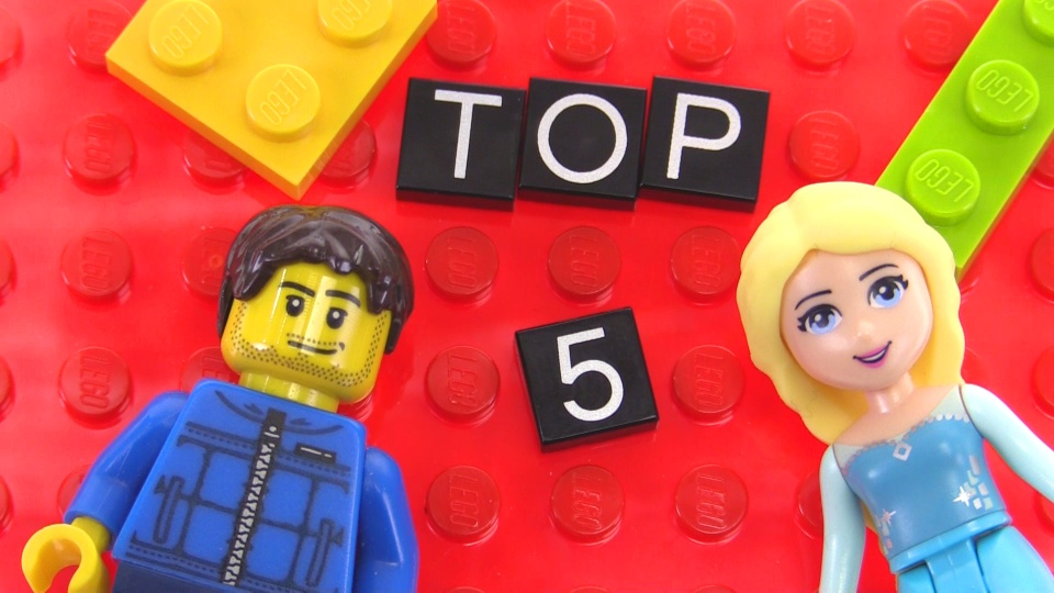 Top 5 best selling LEGO sets of 2015 revealed