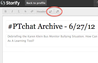 Save time while archiving twitter conversations lead learner blog 3 finally find the toolbar on the upper left of the screen i never really gave this area much attention since we do not edit anyones tweets from the malvernweather Image collections