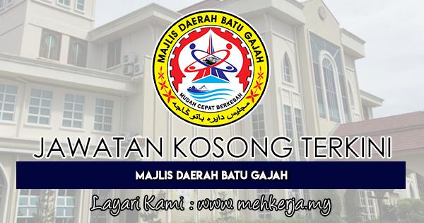 Jawatan Kosong Terkini 2018 di Majlis Daerah Batu Gajah
