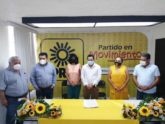 Ex alcalde panista Marco Antonio Poot Aguayo quiere servir otra vez a los kinchileños, ahora por el PRD