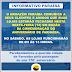 O Paraíba informa a seus clientes que suas lojas estarão fechadas nesta sexta-feira (14)