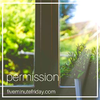 five minute friday permission button