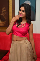 Akshita super cute Pink Choli at south indian thalis and filmy breakfast in Filmy Junction inaguration by Gopichand ~  Exclusive 074.JPG