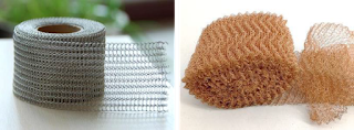 Knitted wire mesh - Texpedia