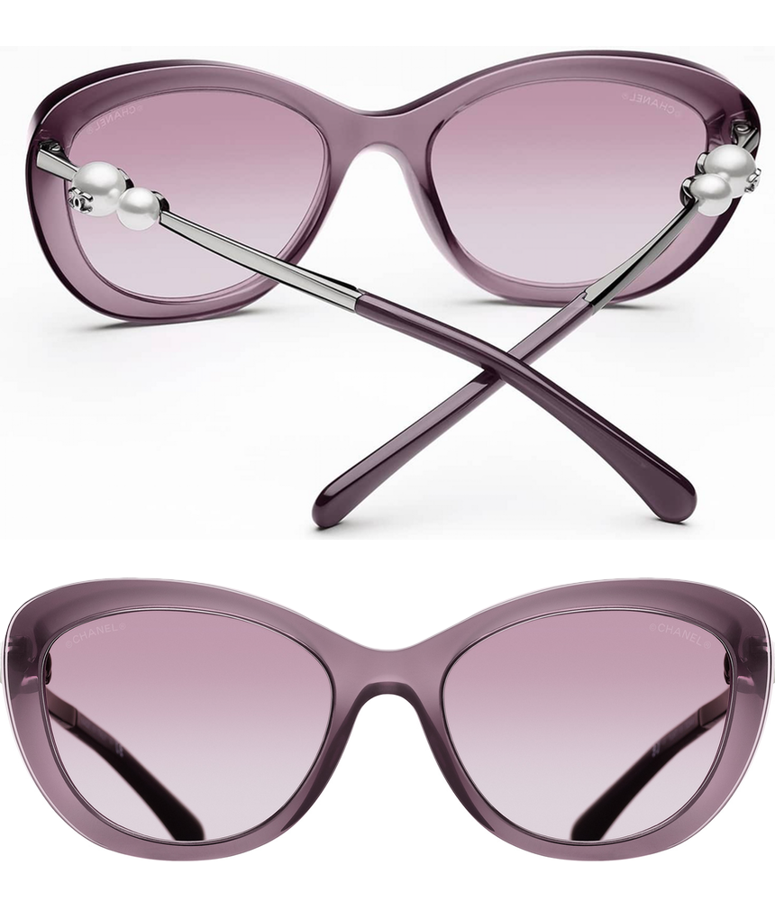 Chanel Cat Eye Winter Sunglasses