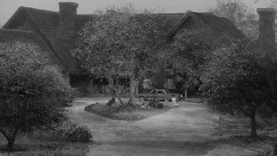 Fotograma del inicio de la película - Casa americana años 60