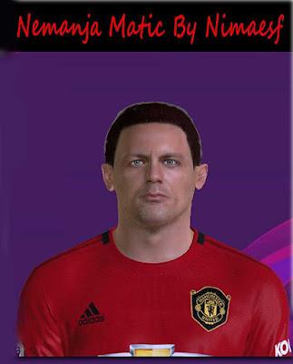 Matic Face For PES 17 By Nimaesf