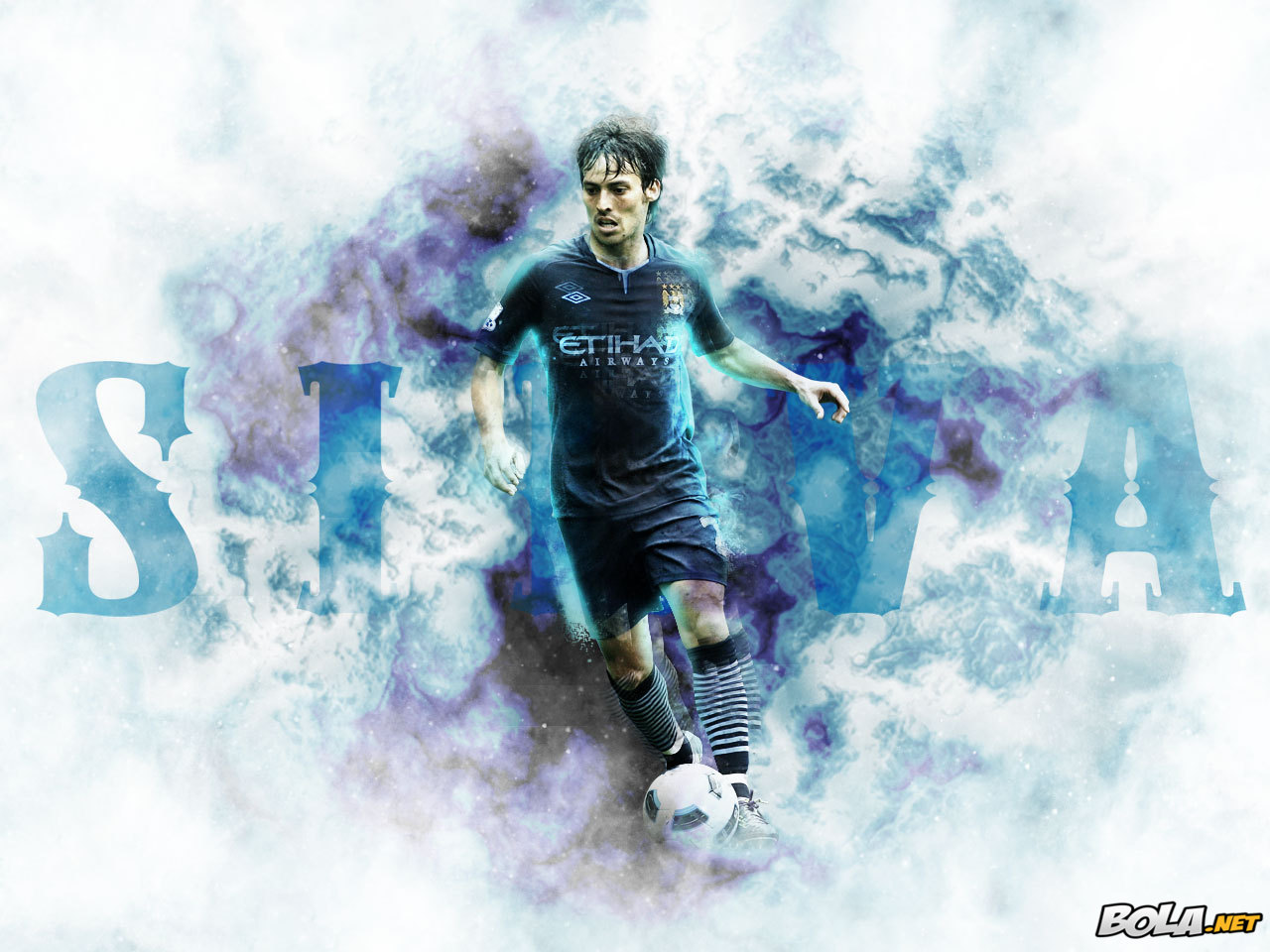 All Sports Superstars: David Silva HD Wallpapers 2012