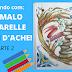 COLORINDO COM PRISMALO AQUARELLE CARAN D'ACHE #2(COLORING WITH PRISMALO AQUARELLE CARAN D'ACHE # 2)