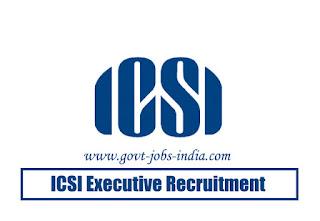 ICSI Executive Recruitment