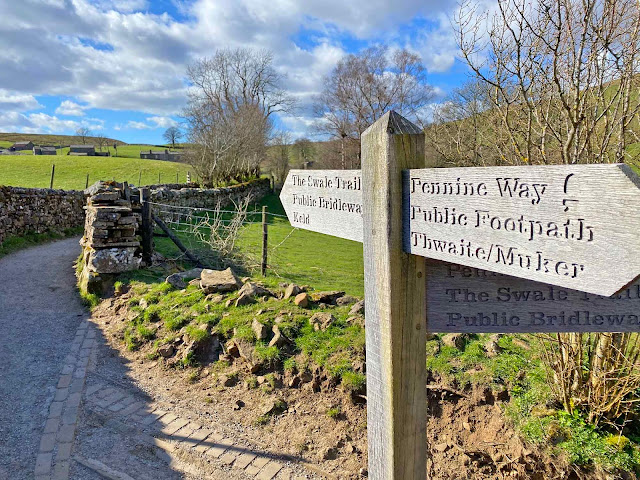 Pennine way swaletrail yorkshire