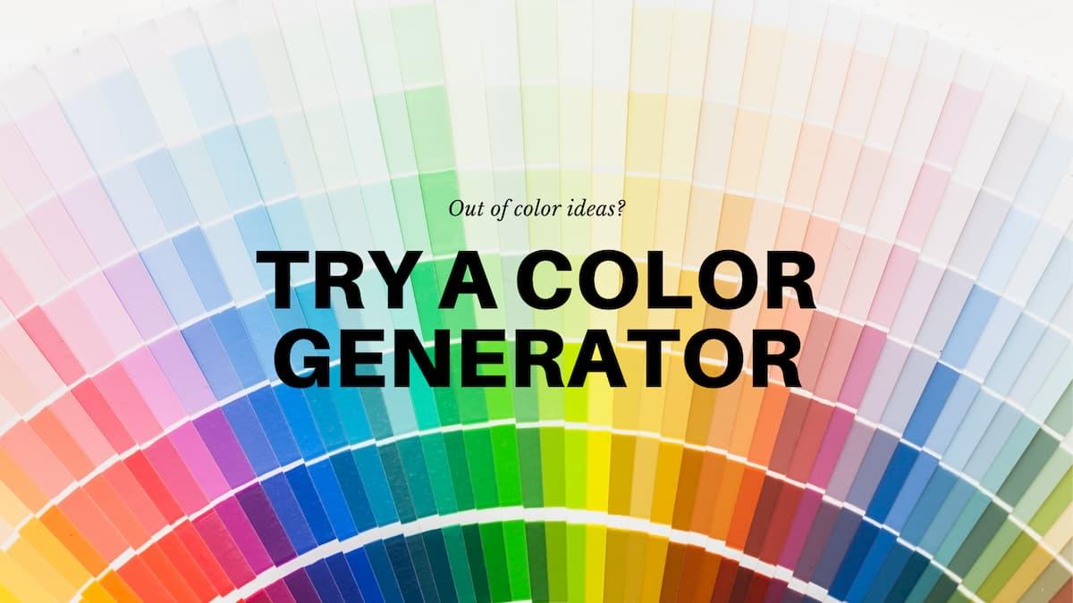 Gradient Color Generator Tool!