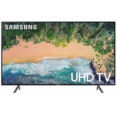 مواصفات شاشة تلفزيون سامسونج سمارت 50 بوصة بدقة 4K UHD وتقنية LED مع ريسيفر داخلي 50RU7105