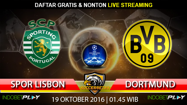 Prediksi Sporting Lisbon vs Dortmund 19 Oktober 2016 (Liga Champions)