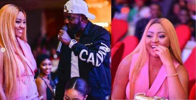 Check Out How @regina.daniels Was Brought On Spot At Ay's Show In Abuja {
