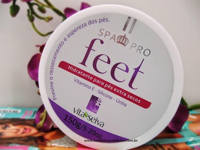 Hidratante para pés