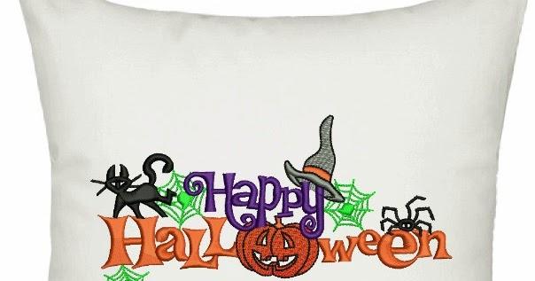 Download Free Happy Halloween Design Machine Embroidery