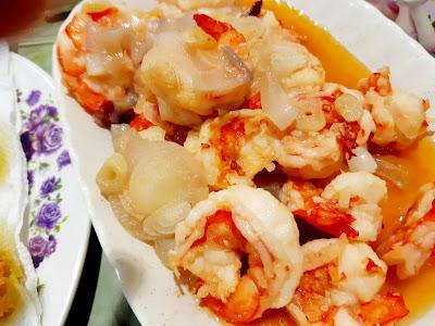 Udang Masak Butter Garlic