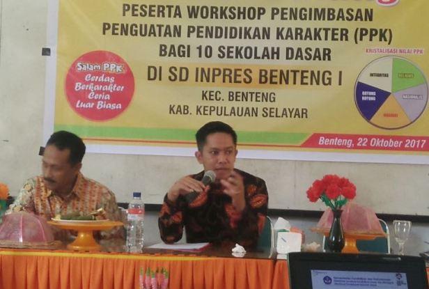Dinas Pendidikan Dan Kebudayaan, Gelar Workshop PPK