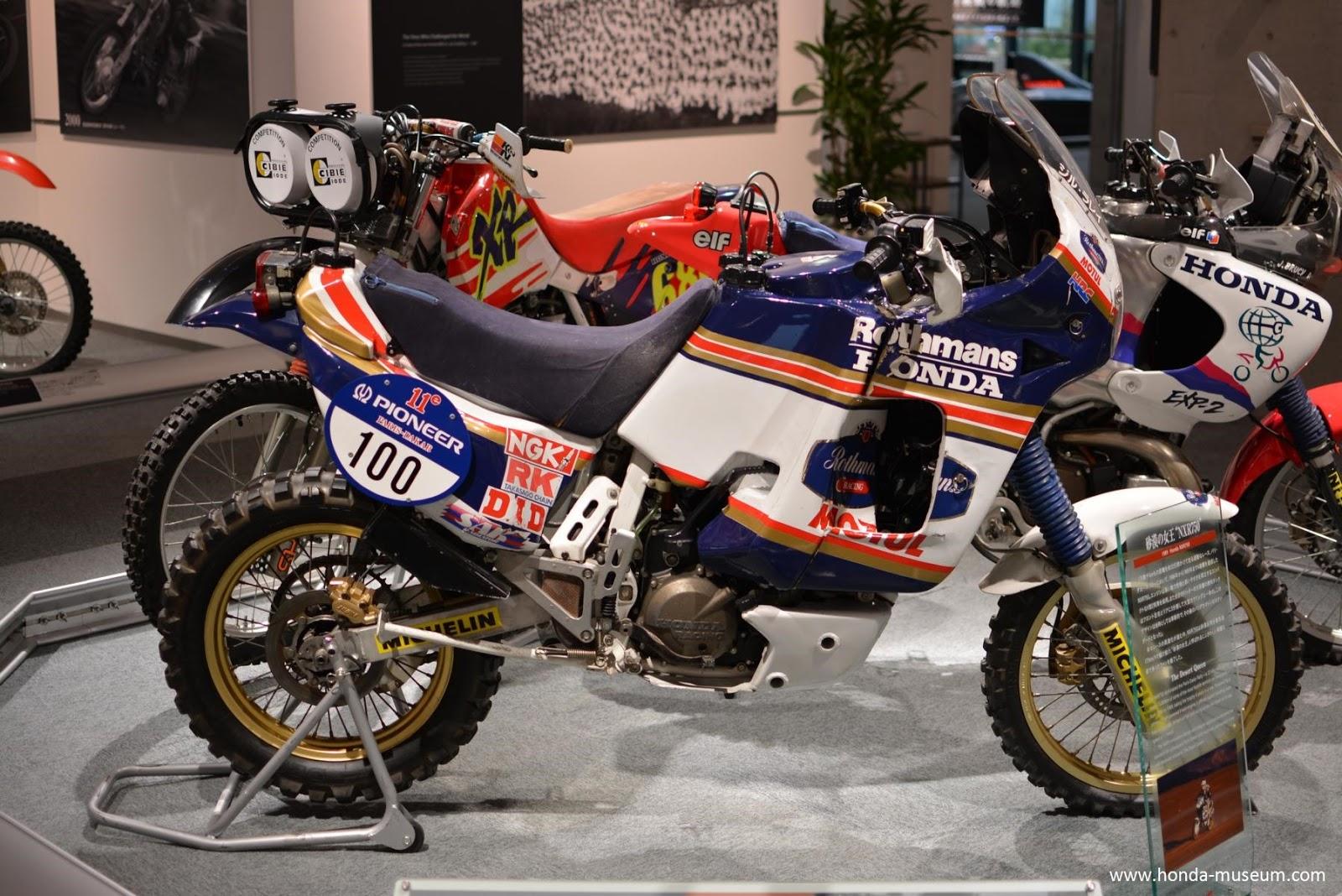 Mad Max Motorcycle >> Africa Twin: Honda - Paris Dakar 1989 - NXR 750
