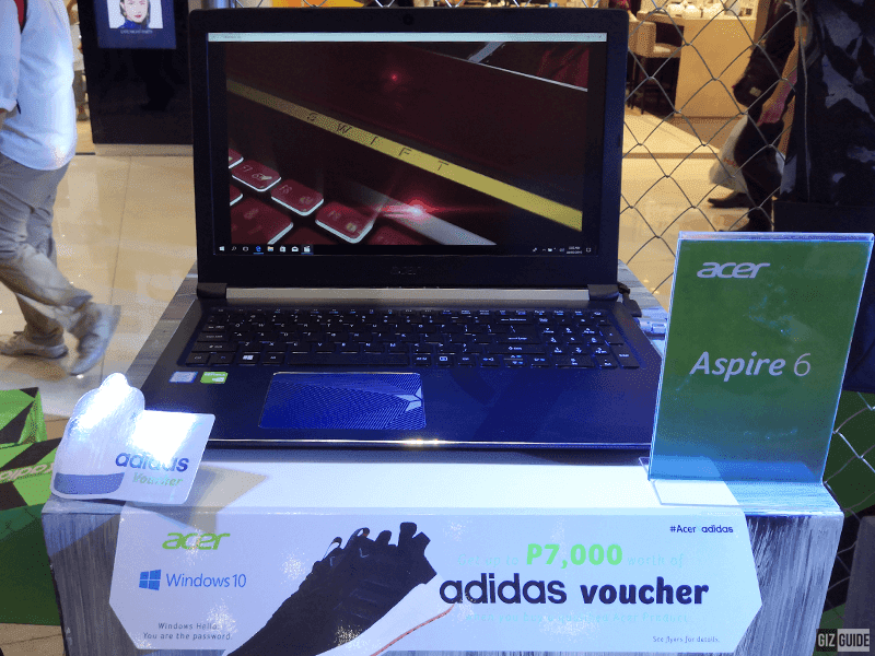 The Acer Aspire 6