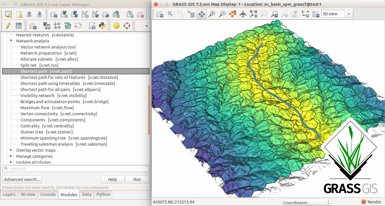 Download GRASS GIS 7 4 1 - Natural geography
