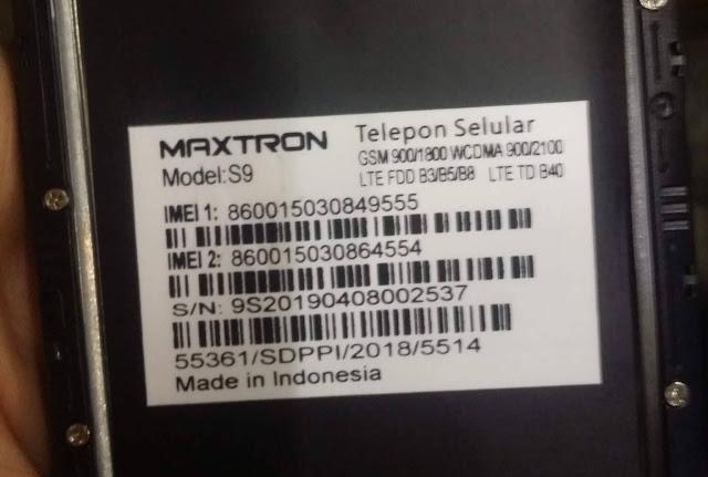 Maxtron S9 SPD Firmware