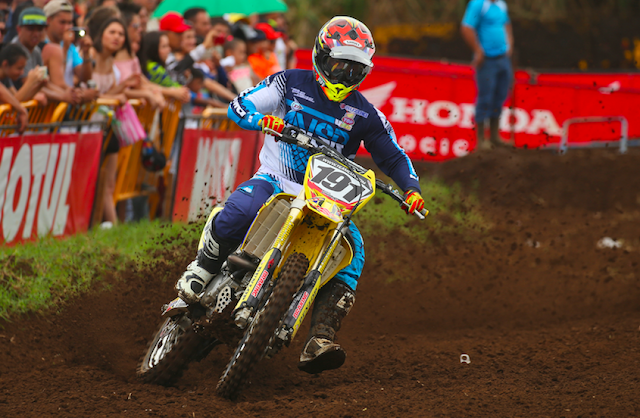 Roberto Castro el gran ganador en primera jornada del Motocross de Guatemala