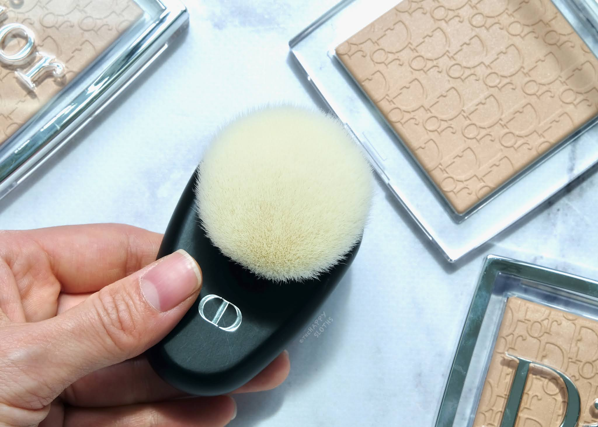 Dior | Backstage Face Brush: Review and Swatches